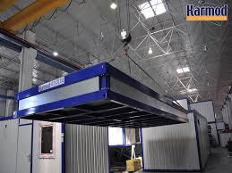 bureau préfabriqué occasion bâtiment industriel temporaire monobloc démontable karmod