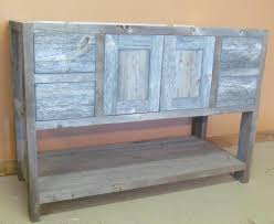 Refurbish Bathroom Vanity Bathroom Rustic Bathroom Cabinet Design With Weathered Wood