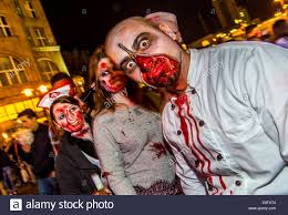 halloween event zombie walk a halloween event where more than 1000 people