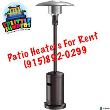 patio heaters rentals eplittle jumpers party rentals home facebook