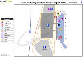 Austin Bergstrom Airport Map by Madison Dane County Regional Truax Field Msn Airport Terminal