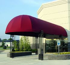 Dome Awning Round Awnings Awnings Canopies Maple Leaf Awning Canvas Awnings