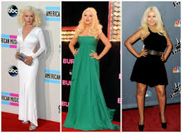 13 tips christina aguilera u0027s style throughout her weight loss vix