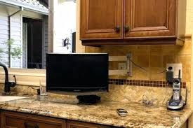 kitchen television ideas kitchen tv ideas large size of small in on hgtv remodel holhy com