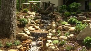 Waterfall Landscaping Ideas Fabulous Waterfall Landscaping Ideas Weddington Nc Waterfall