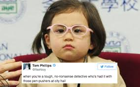 Child Memes - bbc kid s fierce press conference look has inspired a fresh load