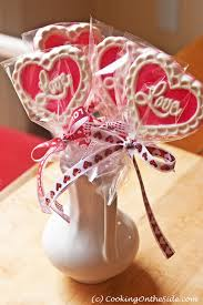 valentines day chocolate s day chocolate lollipops cooking on the side