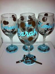 diy monogram wine glasses diy personalized wine glasses fearless fixin s