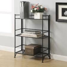 Folding Bookshelves - metal bookcases you u0027ll love wayfair
