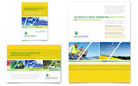1 page flyer template environmental conservation flyer ad template