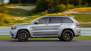 luxury jeep grand cherokee 2018 jeep grand cherokee trackhawk first drive hellcat all the things