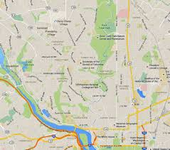 Washington Dc Attractions Map Nw Washington Dc A Map And Neighborhood Guide