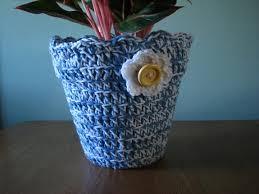 personalized flower pot 20 free crochet flower pot patterns diy to make