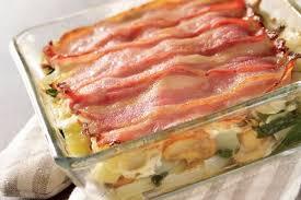 cuisiner les blettes recette de gratin de blettes et poitrine fumée la recette facile