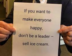 Leadership Meme - ice cream and leadership co learning be