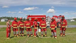 Firefighter Station Boots Canada by Saik U0027uz Firefighters Represent Bc Vanderhoof Omineca Express