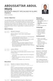 Sample Of Financial Analyst Resume by Research Analyst Resume Samples Visualcv Resume Samples Database