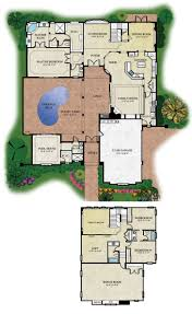 L Shaped Towhnome Courtyards Kerala Homes With Courtyard Model Villa Open Design And Floor