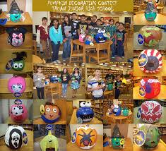 Decorated Pumpkins Contest Winners Truan Jhs Hold Annual Pumpkin Decorating Contest Edcouch