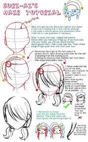 anime hairstyles tutorial anime hair tutorial by suri ai on deviantart how to draw anime
