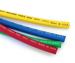 inetparts com welding cable wire in yellow blue orange green