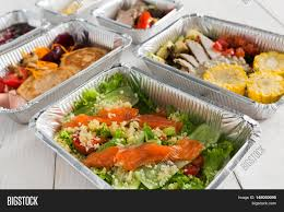 healthy food delivery daily ration image u0026 photo bigstock