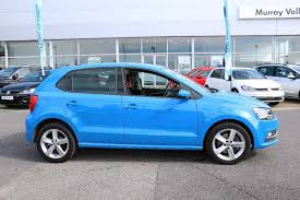 volkswagen polo mk5 find a used blue vw polo 1 0 tsi sel 110 ps bmt 5 dr in plymouth