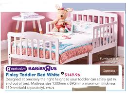 Toddler Bed Babies R Us Babies R Us Finley Toddler Bed White Toys R Us Lasoo Online