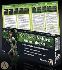 scale75 colors of nature green paint set u2013 elrik u0027s hobbies