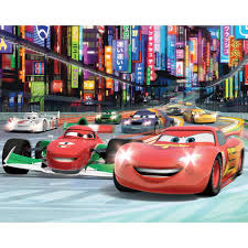 cars wall mural kit 8ft x 10ft disney cars wall mural kit 8ft x 10ft