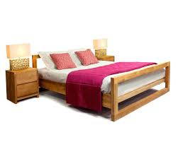 Double Bed by Contemporary Simple Double Bed Design Button Size Pu 1818 S And