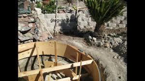 Diy Backyard Pool by How To Build Backyard Concrete Pond Or Pool Part Four Forming