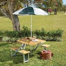 Folding Wood Picnic Table Patio Picnic Tables Foter