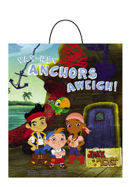 jake neverland pirates essential treat bag