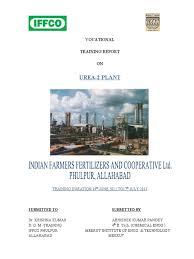 training report urea distillation