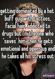 Buff Guy Meme - getting dominated by a hot buff guy with tattoos facial hair
