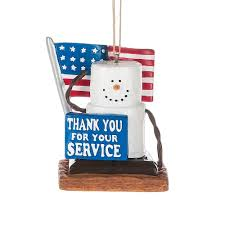 s u0027more military thank you for your service christmas ornament by