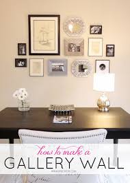 livelovediy how to make a gallery wall