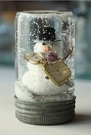 personalized snow globes a diy gift glue