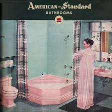 Vintage Bathroom Design Colors 25 Best 1950s Bathrooms Images On Pinterest 1950s Bathroom