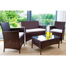 rattan garden furniture beds co uk the bed outlet