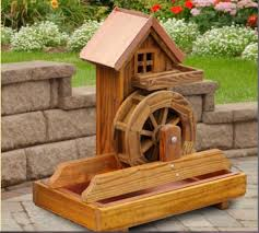 wooden garden decorations 1000 ideas about garden windmill on