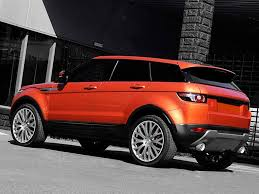 orange range rover evoque 2012 kahn range rover evoque vesuvius exceptional and