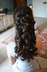 Frisuren Lange Haare Halb Hochgesteckt by Frisuren Lange Haare Locken Abiball Acteam