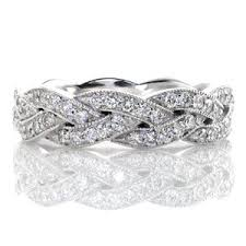 braided band legato fashion ring diamond and unique