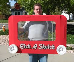 giant etch a sketch costume 8 steps with pictures