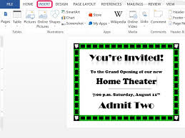 How To Make Wedding Programs How To Make Invitations In Word Techwalla Com