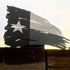 Rugged Home Decor Rugged Texas Flag Metal Wall Art Metal Sign Home Decor