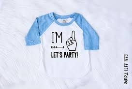 1st birthday boy birthday boy im one im one lets party im one shirt
