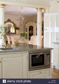 Kitchen Island Extension by Kitchen Island With Pillars